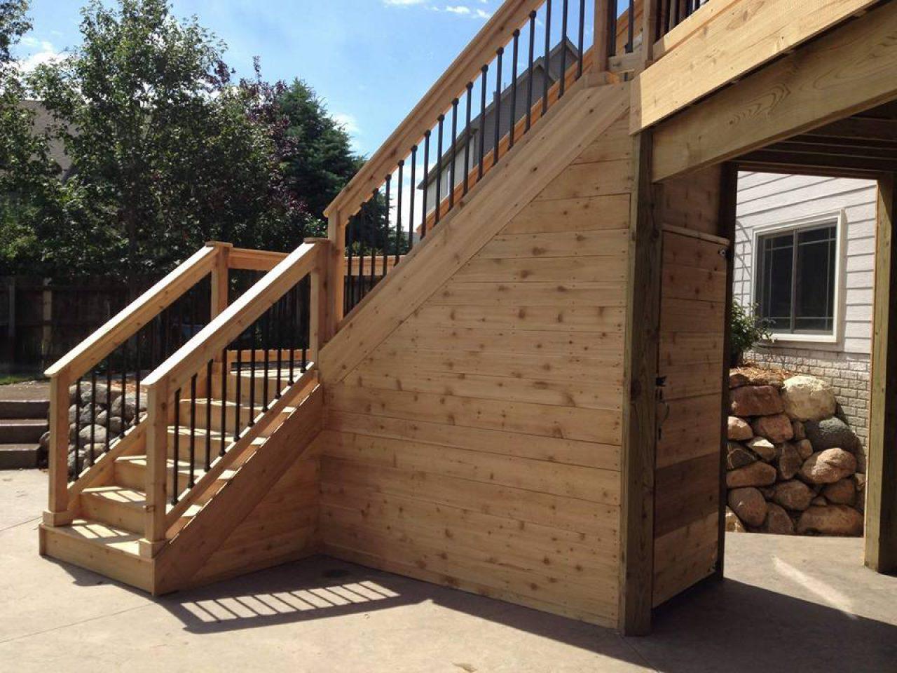 ... Deck Stairs Pool Storage 6 ...