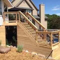 Deck Stairs Pool Storage 1