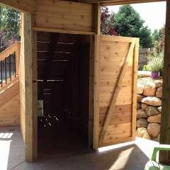 Deck Stairs Pool Storage 10