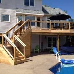 Deck Stairs Pool Storage 2
