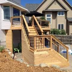 Deck Stairs Pool Storage 3