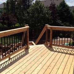 Deck Stairs Pool Storage 4