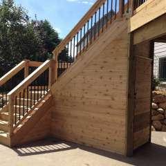 Deck Stairs Pool Storage 6