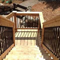 Deck Stairs Pool Storage 8