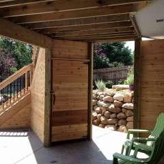 Deck Stairs Pool Storage 9