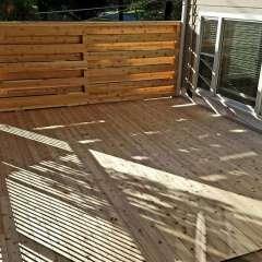 Deck Stairs Gutter 4