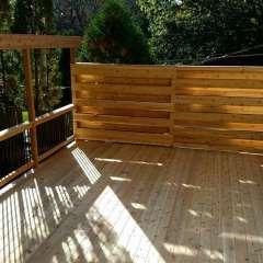 Deck Stairs Gutter 6