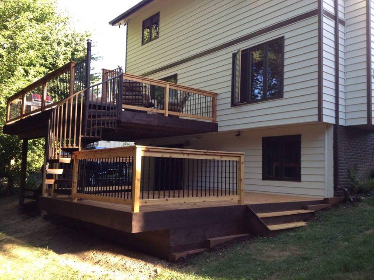 Etonnant ... Deck Spiral Staircase 6