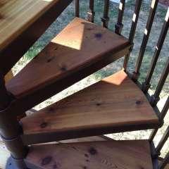 Deck Spiral Staircase 5