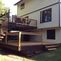 Deck Spiral Staircase 6