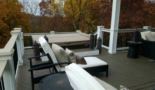 Large Finished Deck